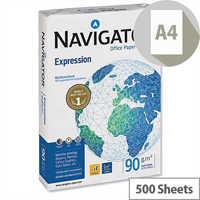 Navigator Expression Office Paper A4 90gsm White 500 Sheets