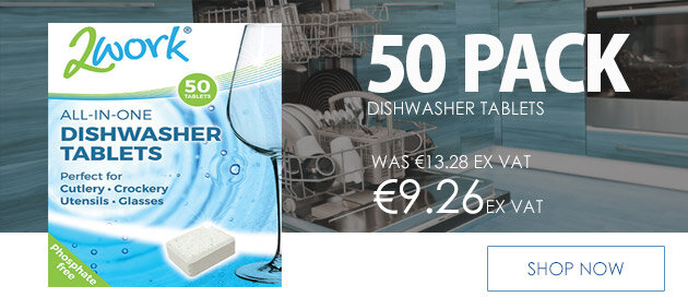 2Work All in One Dishwasher Tablets Pack of 50 2WORKDT50