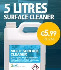 2Work Multi-Surface Cleaner 5 Litre Concentrate 2W03985