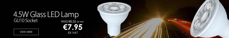 4.5W SMD GU10 440LM Glass LED Lamp FFSMD5WW