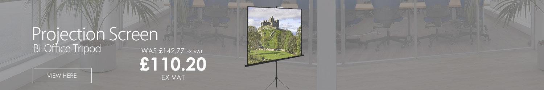 Bi-Office Tripod Projection Screen 1250mm 9D006028