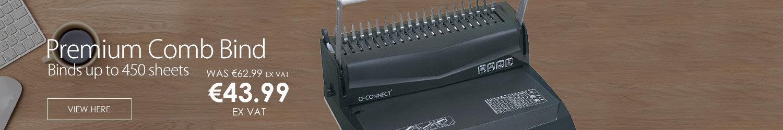 Q-Connect Premium Comb Bind 12 KF16762
