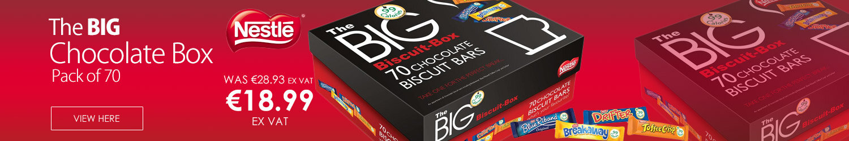 Nestle Big Chocolate Box Assorted 99 Calories Per Bar Ref 12232480 [Pack 70]