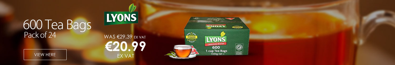 Lyons Original Blend 600 1 Cup Tea Bags Pack 600