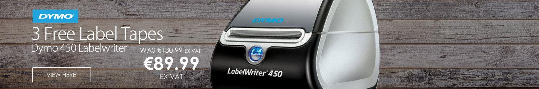 Dymo 450 Labelwriter Label Maker + 3 FREE ROLLS OF LABELS