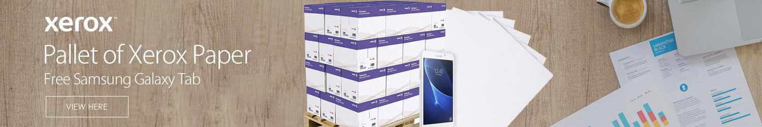 Pallet Of Xerox Premier High Performance 200 Reams A4 White Printer Paper 80gsm Pallet FREE Samsung Galaxy Tab