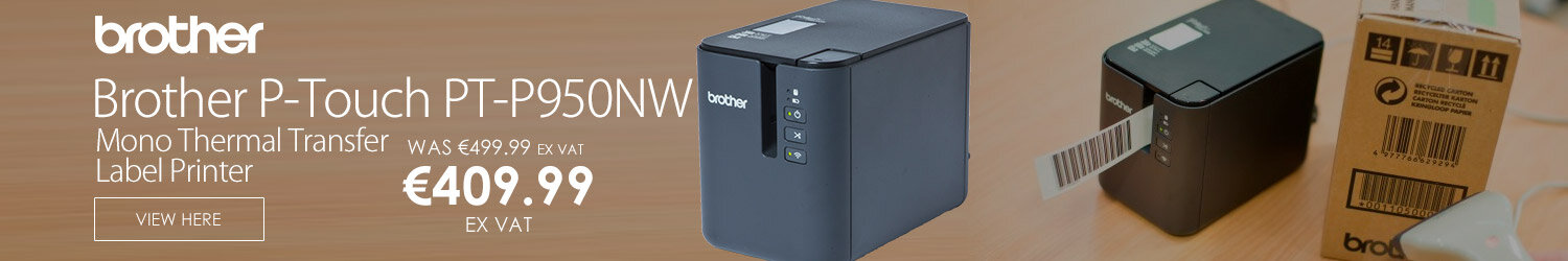 Brother P-Touch PT-P950NW Label Printer Monochrome Thermal Transfer