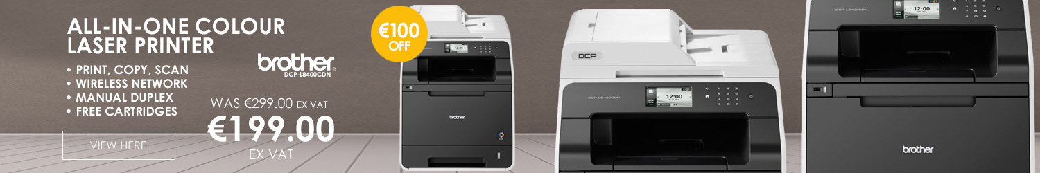 Brother DCP-L8400CDN High Speed Colour All-In-One Printer Duplex Network