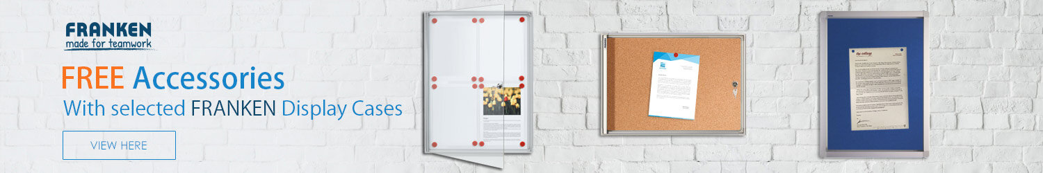 FRANKEN Lockable Display Boards SPECIAL OFFER