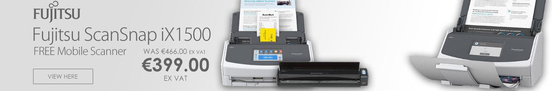 Fujitsu ScanSnap iX1500 A4 Desktop Document Scanner