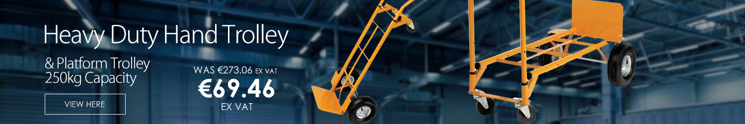 Heavy Duty Hand Trolley and Platform Truck Capacity 250kg RelX