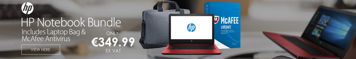 HP 14 Inch Intel Pentium 8GB RAM 2TB HDD Laptop Bundle