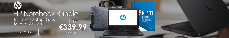 HP 14 Inch Intel Pentium 8GB RAM 2TB HDD Laptop Bundle