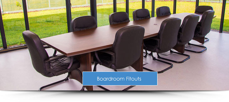 Boardroom Fitout Projects