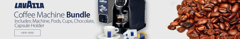 Lavazza LB 900 Blue Classy Compact Coffee Machine Bundle Deal Starter Pack