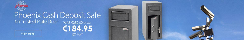 Phoenix Cash Deposit Safe 6mm steel plate door