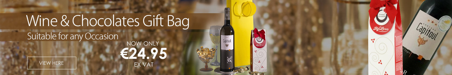 White Wine & Chocolates Gift Bag