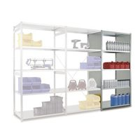 Galvanized Bolt-less Shelving Starter Bays