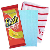 Office Cleaning Cloths & Wipes