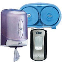 Soap & Tissue Dispensers