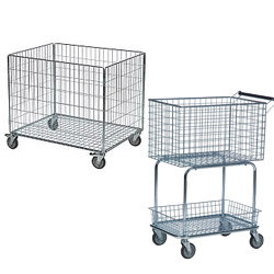 Wire Basket Truck Trolley