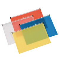 A4 Zip Document Wallets
