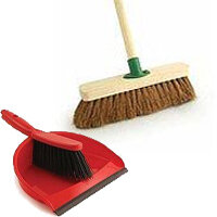 Brooms, Brushes & Dustpans