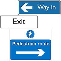 Car Park Navigation Signs