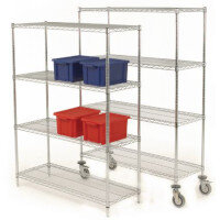 Chrome Wire Shelving Kits