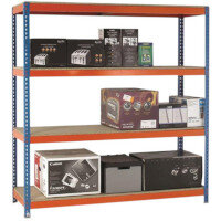 Heavy Duty Boltless Chipboard Shelving