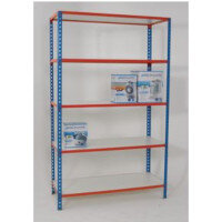 Simonclick Melamine Faced Boltless Shelving