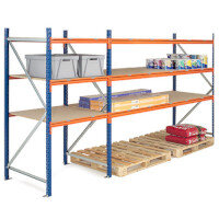 Super Heavy Duty Wide Span Shelving