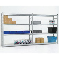 Zinc Plated Boltless Steel Longspan Shelving