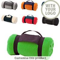Custom Branded Promotional Blankets