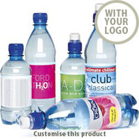 Custom Branded Promotional Bottled Water