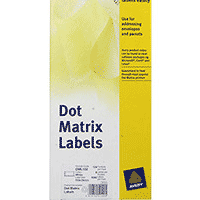Dot Matrix Printer Labels