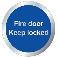 Fire Safety Door Signs