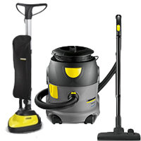 Floor Cleaning Machines & Accessories