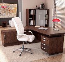 Grand Office Furniture Range - Walnut