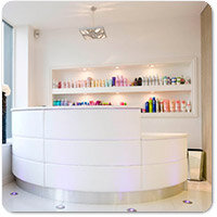 Hair & Beauty Salon Reception Desks