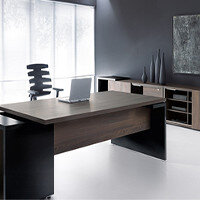Mito Dark Sycamore Executive Furniture Range