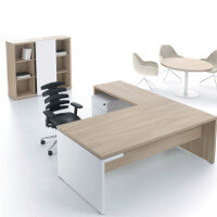 Mito Light Sycamore Executive Furniture Range