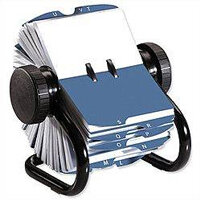 Rotary Business Card Files