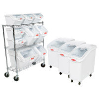 Rubbermaid Food Ingredient Bin Systems