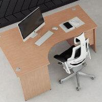 Trexus Beech Panel End Desking & Office Furniture Range