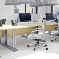 Trexus Maple Cable Managed Desking & Office Furniture Range