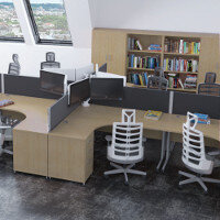 Trexus Oak Office Furniture Ranges
