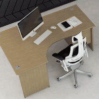 Trexus Oak Panel End Desking & Office Furniture Range