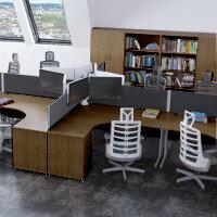 Trexus Walnut Office Furniture Ranges