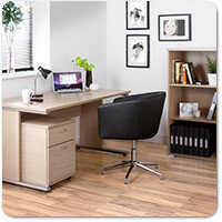 Urban Blonde Oak Home Office Furniture Range